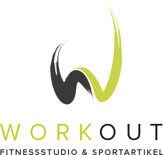 Workout Fitnessstudio & Sportartikel - Logo