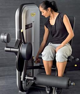 Krafttraining im Workout mit Technogymgeräte