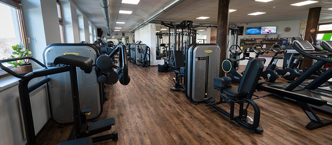 Der Cardiobereich im Workout - Fitnessstudio Ebbs