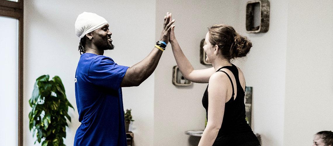 Gemeinsames Erfolge feiern und Spaß beim Trainieren wird bei uns groß geschrieben.