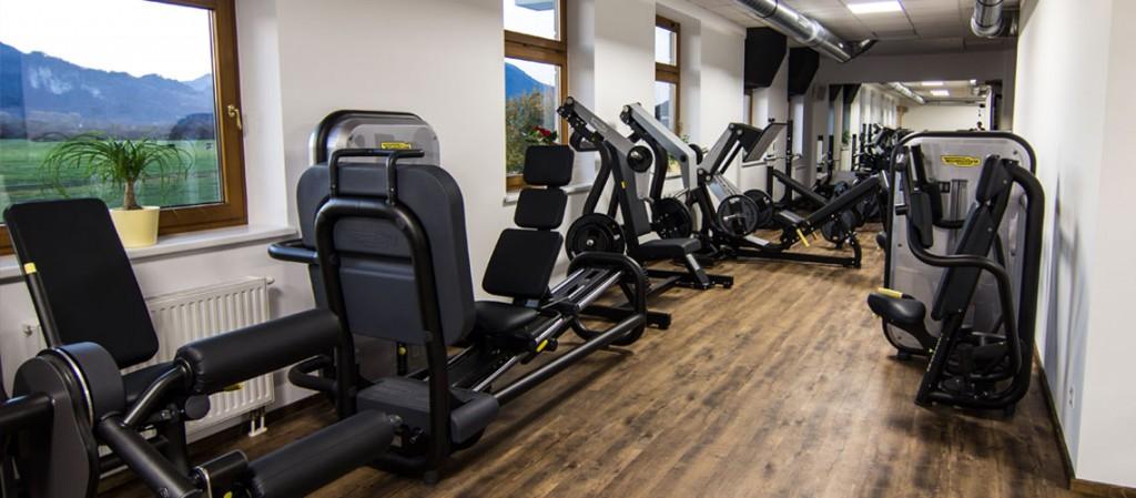 Der Trainingsbereich vom Workout - das Fitnessstudio in Ebbs / Kufstein und Umgebung