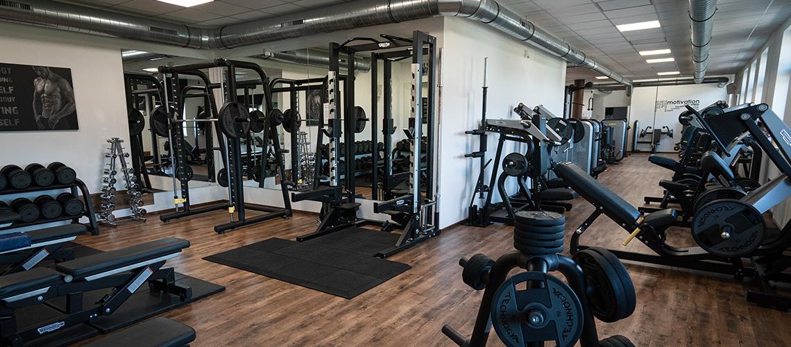 Workout Fitnessstudio Ebbs - Kraftbereich