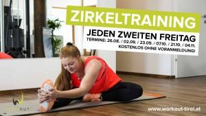 Workout Tirol - Jeden zweiten Freitag Zirkeltraining