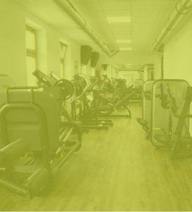 Kraftbereich Fitnessstudio Workout Ebbs